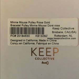 KEEP Collective Jewelry - KEEP Minnie pulley bracelet